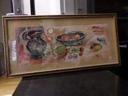 Dipinto soggetto natura morta - Lotto 30 (Asta 5581)