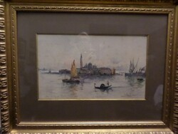 Isola San Giorgio Venezia painting - Lot 6 (Auction 5581)