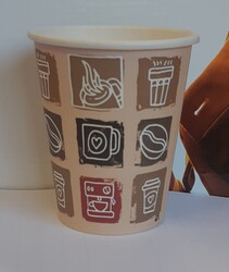 Beverage cups in poly coated paper - Lot 2 (Auction 5590)
