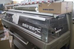 Shima Seiki yarn machine and Sewoong irons - Lote 2 (Subasta 5591)