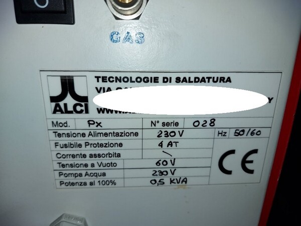 1#5598 Saldatrici al plasma e oscilloscopio in vendita - foto 55