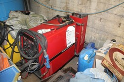 Atlas Copco compressor and small parts - Lot 0 (Auction 5599)