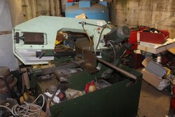 Esab welding machine and Carif band saw - Lot 10 (Auction 5599)
