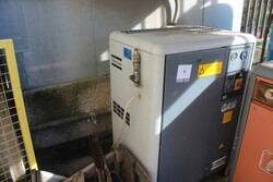 Atlas Copco compressor - Lot 4 (Auction 5599)