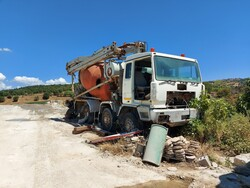 Astra truck with concrete mixer and Astra cab - Lot 1 (Auction 5606)