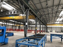 Fom overhead crane and Officine Carannante tracks - Lot 17 (Auction 5617)