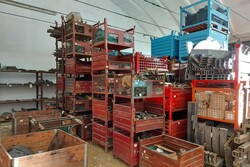 Warehouse of raw materials and semi finished products - Lot 1 (Auction 5619)