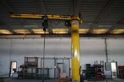 Meloni Demag CTS Jib cranes - Lot 4 (Auction 5619)