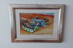 Dipinto 'Studio Per Donna Sulla Sdraio' - Lotto 10 (Asta 5623)