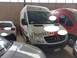 Autocarro Mercedes Benz Sprinter 213 - Lotto 12 (Asta 5641)
