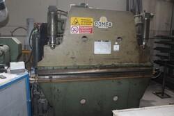 Piegatrice meccanica Romea e sega a nastro Thomas