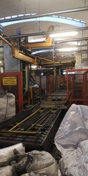 Ocme Taro automatic palletizer and Weiteik bagging machine - Lot 0 (Auction 5654)