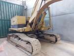 Escavatore cingolato Caterpillar e martello demolitore Krupp - Lotto 12 (Asta 5665)