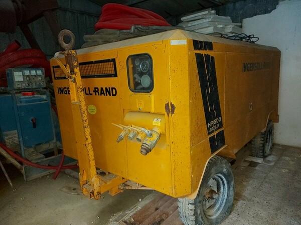 13#5665 Perforatrice e compressore Ingersoll Rand in vendita - foto 9