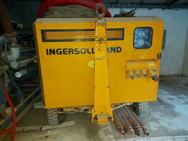 13#5665 Perforatrice e compressore Ingersoll Rand in vendita - foto 10