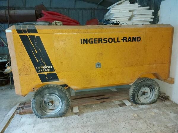 13#5665 Perforatrice e compressore Ingersoll Rand in vendita - foto 11