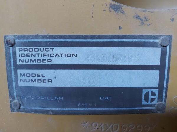15#5665 Pala gommata Caterpillar 966E in vendita - foto 6