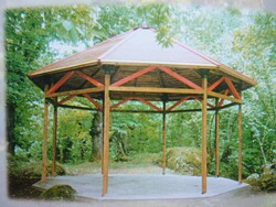 Octagonal houses and gazebos - Lot 1 (Auction 5675)