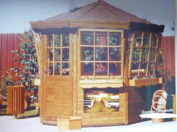 1#5675 Casette ottagonali e gazebo in vendita - foto 2