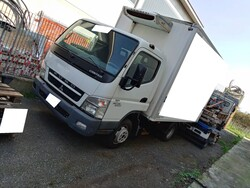 Mitsubishi with cold store and forklifts - Lot 0 (Auction 5682)