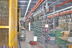 Galvanic system with racks and automatic warehouse - Lot 0 (Auction 5689)