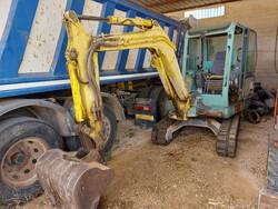Mini escavatore cingolato Yanmar - Lotto 2 (Asta 5693)
