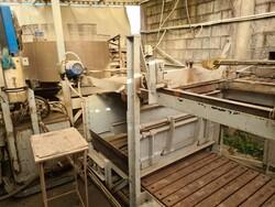 Impianto di pallettizzazione prodotto antichizzato