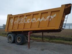 Metra Minerva 90 pelican semi trailer - Lot 8 (Auction 5701)