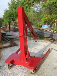 Manual hydraulic lift - Lot 19 (Auction 5713)