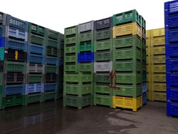 Bins for fruit and vegetables - Lot 111 (Auction 5715)