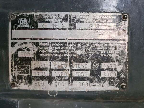 55#5715 Carrello elevatore OM in vendita - foto 2