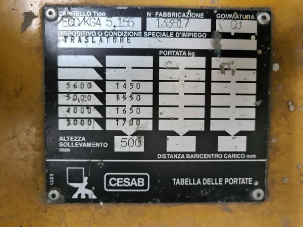 59#5715 Carrello elevatore Cesab in vendita - foto 8