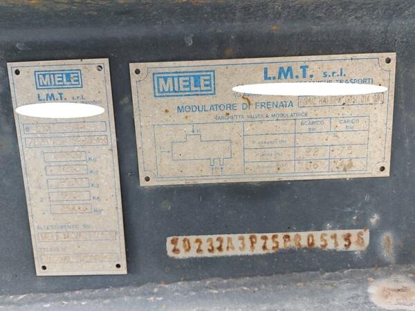 8#5715 Semirimorchio LMT Miele in vendita - foto 7