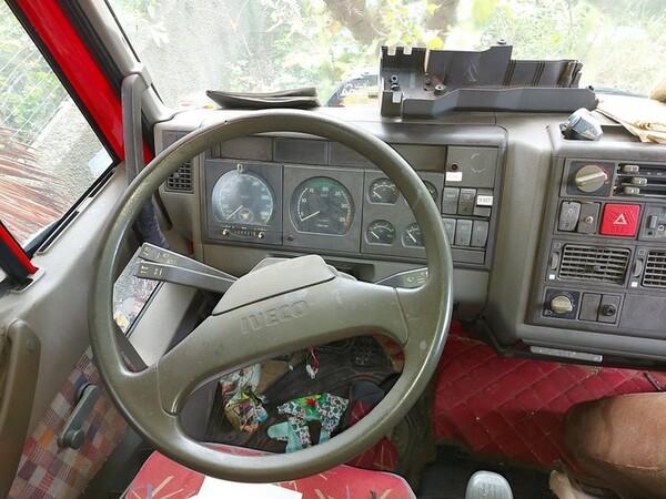 1#5716 Autocarro Fiat Iveco e transpallet meccanico Jungheinrich in vendita - foto 17