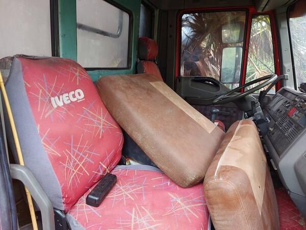 1#5716 Autocarro Fiat Iveco e transpallet meccanico Jungheinrich in vendita - foto 20