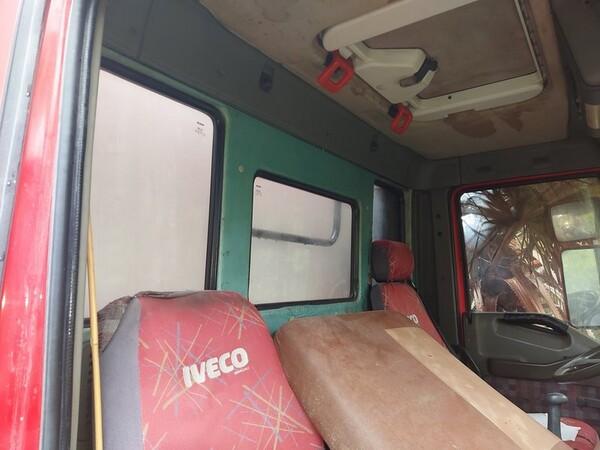 1#5716 Autocarro Fiat Iveco e transpallet meccanico Jungheinrich in vendita - foto 21