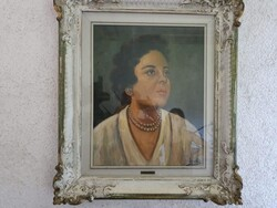 Painting by Szab   - Lot 2 (Auction 5718)