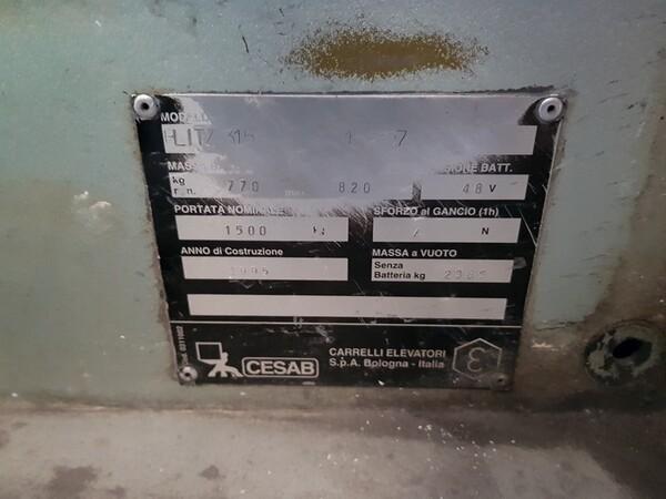 10#5720 Carrello elevatore Blitz in vendita - foto 7