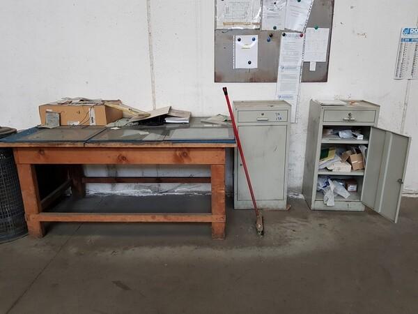 15#5720 Tavoli da lavoro e ricambi in vendita - foto 42