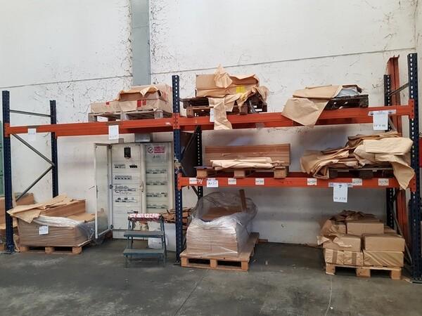 17#5720 Scaffalature e contenitori in ferro in vendita - foto 9