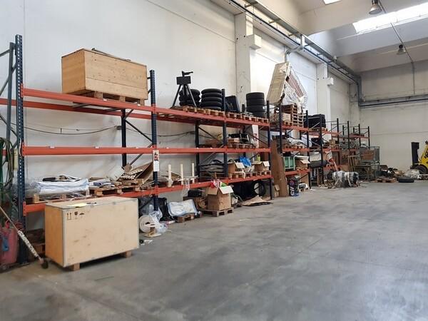 17#5720 Scaffalature e contenitori in ferro in vendita - foto 11