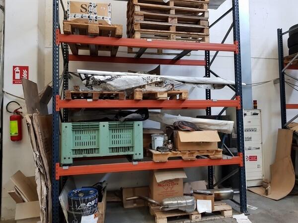 17#5720 Scaffalature e contenitori in ferro in vendita - foto 12