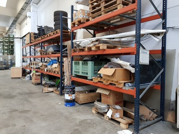 17#5720 Scaffalature e contenitori in ferro in vendita - foto 14