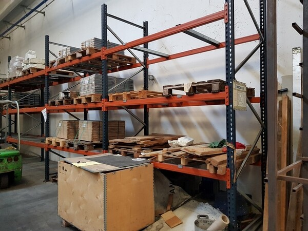17#5720 Scaffalature e contenitori in ferro in vendita - foto 15