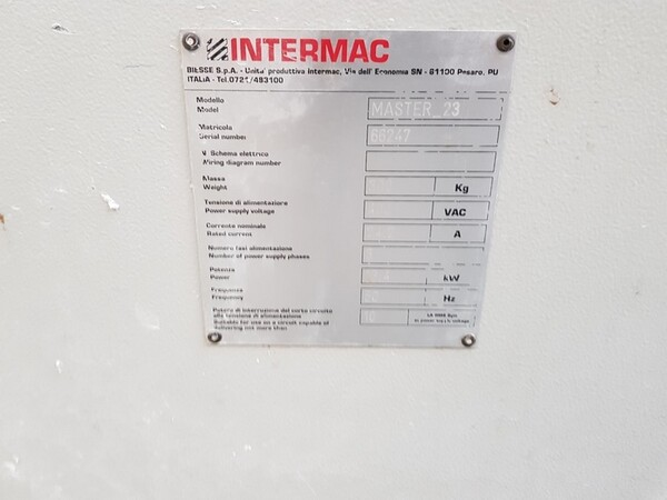 2#5720 Centri di lavoro Intermac Master in vendita - foto 5