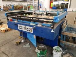 Semiautomatic screen printing machine - Lot 7 (Auction 5720)