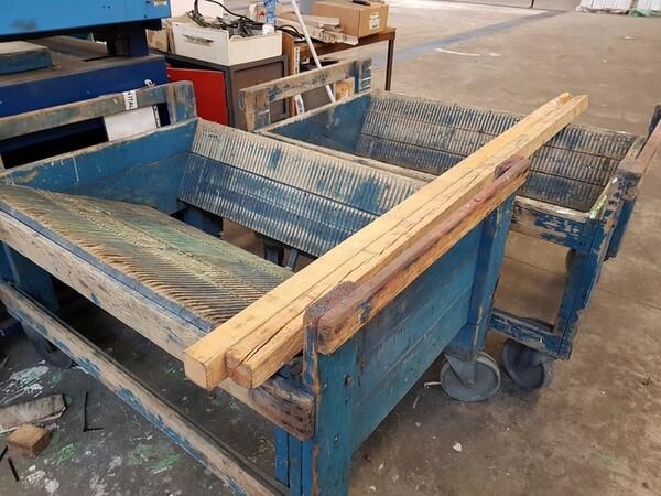 9#5720 Carrelli e contenitori in ferro in vendita - foto 26