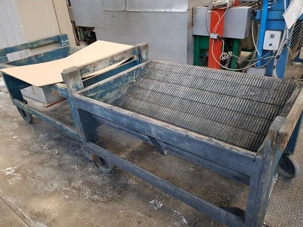 9#5720 Carrelli e contenitori in ferro in vendita - foto 30