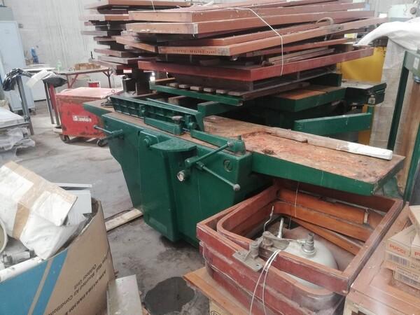 7#5748 Sega a nastro Centauro e macchinari lavorazione legno in vendita - foto 14