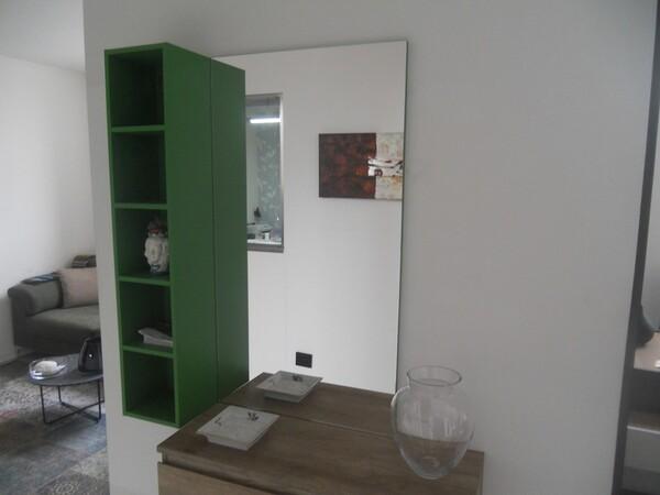 30#5754 Specchio rettangolare e appendiabiti in ferro in vendita - foto 13